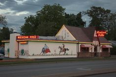 Mexican Villa in Springfield, MO.  Man, I wish they would franchise to somewhere in the Tulsa area (Like Sand Springs!!!) Burrito Enchilada Style is one of the best things ever.  And their Hot Sauce is AMAZING! You can order it online. You should!