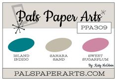 PPA309 – A Color Challenge by Katy McGloin – Pals Paper Arts