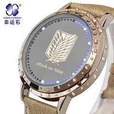 Attack-on-Titan-watch http://www.aliexpress.com/store/product/Anime-Attack-on-Titan-watch-anime-watch-LED-wrist-watch-touch-screen-the-mark-fashion-waterproof/1352236_2013762103.html