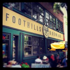 Foothills Brewery in Winston-Salem, NC. Great food and beers!!