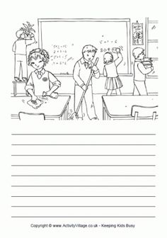 Help Tidy Up Story Paper Picture Story Writing, Picture Story For Kids, Writing Pictures, Creative Writing Worksheets, English Creative Writing, English Writing Skills, English Worksheets For Kids, English Activities, Writing Activities