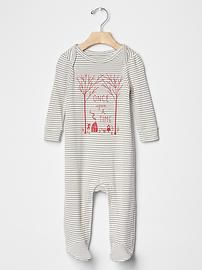 Gap | Once-upon-a-time footed one-piece