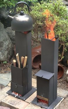 Discover thousands of images about Rocket Stove Jet Stove, Stove Oven, Rocket Heater, Rocket Stoves, Metal Projects, Welding Projects, Rocket Stove Design, Multi Fuel Stove, Outdoor Oven