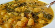 Fácil y rápida receta típica de Cuaresma. Con estos ricos garbanzos con acelgas o espinacas todos disfrutarán de las verduras y legumbres.