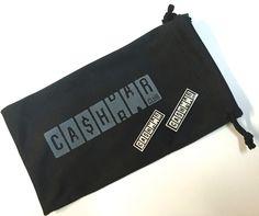 Brillenetui /-tuch / Microfaser-Beutel & Pin Cashbar Club