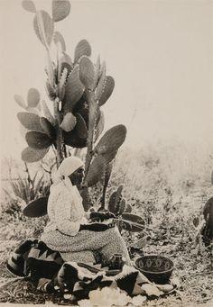 Dolores Patencio with Baskets