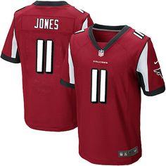 Atlanta Falcons  11 Julio Jones Elite Red Men NFL Stitched Jersey Sports  Uniforms 73d63023f