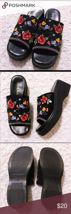 I just added this listing on Poshmark: Floral embroidery black shoes 90s size 7.5. #shopmycloset #poshmark #fashion #shopping #style #forsale #Shoes