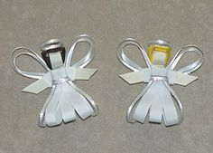 Angel hair clip. $7.00, via Etsy.
