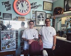 """Repost from @theniteowlbarbershop - """"Happy to have my barber brother Mason from Florida USA joining us today and tomorrow at the Nite Owl"""" - Sailor Tony. {Limited Appointments available with Mason today/ tomorrow} .  Mood  Just Like Old Times Music  Pokey LaFarge  Photo  via @sailortony  Book In  theniteowl.resurva.com .  #Barber #Toronto #GuestBarber  __ __ -----------------------------------------------------#barber #barberlife #barbershop #Toronto #instastyle #igerstoronto #igstyle…"""