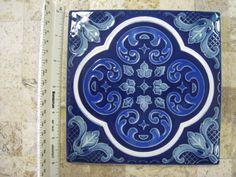 Beautiful 6x6 Porcelain Decorative tile - $23.25 each piece  #TileSensations