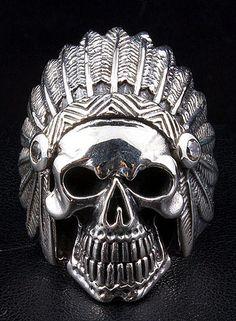 Indian Skull Ring