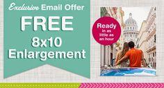 #Free 8x10 print from Walgreens Photo