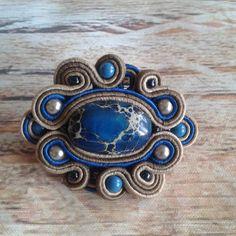 Soutache Pendant, Soutache Necklace, Handmade Jewellery, Techno, Cuff Bracelets, Pendants, Necklaces, Jewelry, Fashion