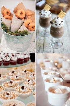 Winter themed desserts for your wedding from Lucky in Love Wedding Planning Blog - Seattle Weddings at Banquetevent.com