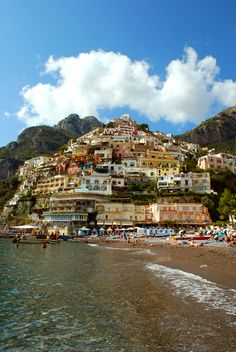 Positano, Italy- One of the coolest places I've ever been (in 2001). I want to go on my honeymoon here!