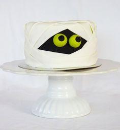 Gâteau d'Halloween : le monstre caché