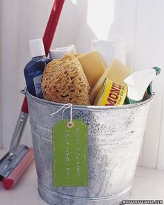 car wash gift basket, but much better than this