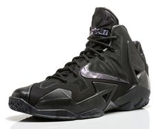 All Black Everything: Nike LeBron 11 'Anthracite'