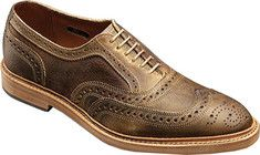 Allen-Edmonds McTavish (Men's) - Brown Distressed Leather
