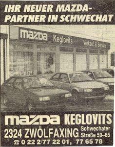 Mazda Inserat 1986