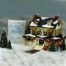Dept 56 Snow Village ~ Snowy Pines Inn ~ Mint In Box 54934