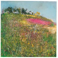 Kurt Jackson (*Reminds me of the wildflowers that grow along the Amish farmers' fields here in Ronks, PA!)