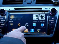 Ca-Fi. Штатная автомагнитола на Android для Mazda 6 New.