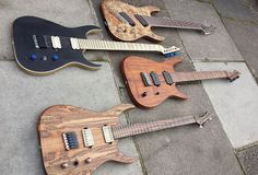 Blackmachine guitars