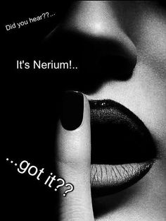 It's no secret that NERIUM is the best skin care line around--get some today! www.dreamgiver.nerium.com