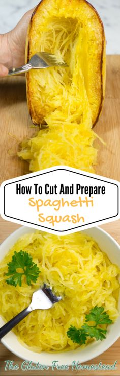Click on this pin to get step by step video, photos, and tips with serving suggestions | Spaghetti squash | gluten free recipe | cooking video | low carb | paleo recipe | whole 30
