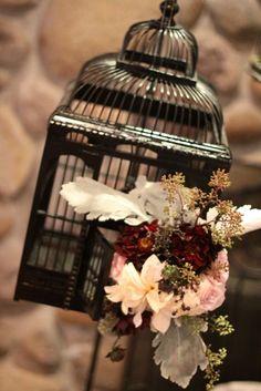 Romantic birdcage