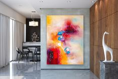 Original Abstract Canvas Art,Large Abstract Canvas Art,large canvas art,original painting,original abstract,acrylic textured FY0058