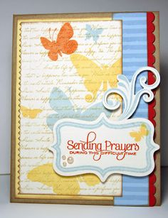 PTI Beautiful Butterflies, Distressed Stripes, Fillable Frames, Fancy Flourishes