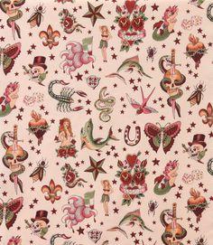 Alexander Henry 'Tattoo' Fabric