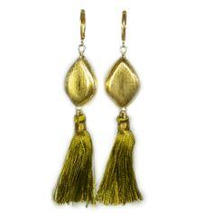 Margaret Elizabeth Jewelry #olivetassels