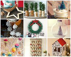 13REGALOS6 manualidades y adornos para Navidad