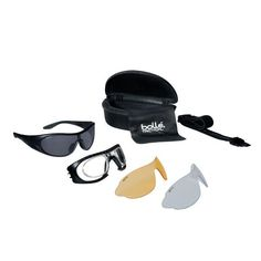 Raider - ballistic spectacles from Bolle with clear, smoke and yellow lenses, and black frame are currently available for sale at Military the UK based online store. Visit our website for a range of quality ballistic safety eyewear. Tactical Gear, Raiders, Sunglasses Case, Lens, Smoke, Ebay, Yellow, Frame, Malli