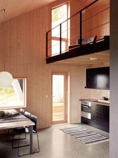 Moderne fjellhytte på Musdalsæter. Plywood Walls, Mountain Cottage, Cottage Homes, Prefab, Decoration, Tiny House, Home And Garden, Architecture, Furniture
