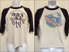 STYX Vintage 1979 TOUR Tshirt/ The Grand by sweetVTGtshirt on Etsy, $45.00