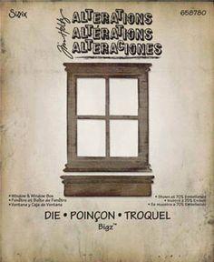Tim Holtz® Alterations   Sizzix® Bigz™ Dies - Window & Window Box ...