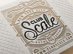 Stunning Letterpress Works by Ye Olde Studio