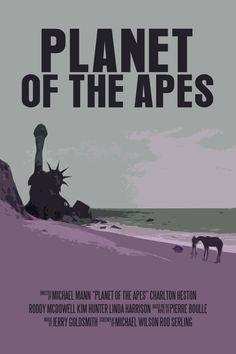 Planet Of The Apes #alternative #movie #art #poster #complex #illustration #film #creative