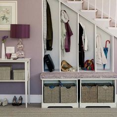 Storage ideas for small spaces bedroom designs: Storage ideas for . Storage ideas for small spaces 10 Home Organization and Storage Id. Entryway Storage, Stair Storage, Storage Spaces, Staircase Storage, Coat Storage, Extra Storage, Basement Storage, Bench Storage, Shoe Storage