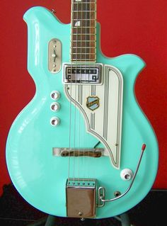RARE 60's Vintage National Resoglas Electric Guitar