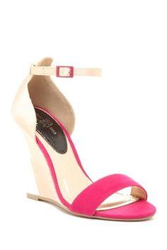 Bo Open Toe Wedge Sandal