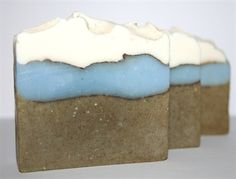 Sea Breeze fragranced soap , with added Kelp for a mineral kick.