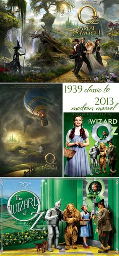 Wizard of Oz classic versus Disney's Oz The Great And Powerful ~ mom's review