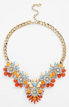 #jewelry #statement #necklace #stone #sparkle #elegant #accessories