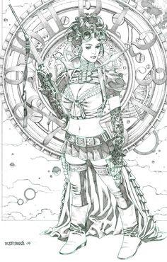 Lady Mechanika by Michael Sta. Maria